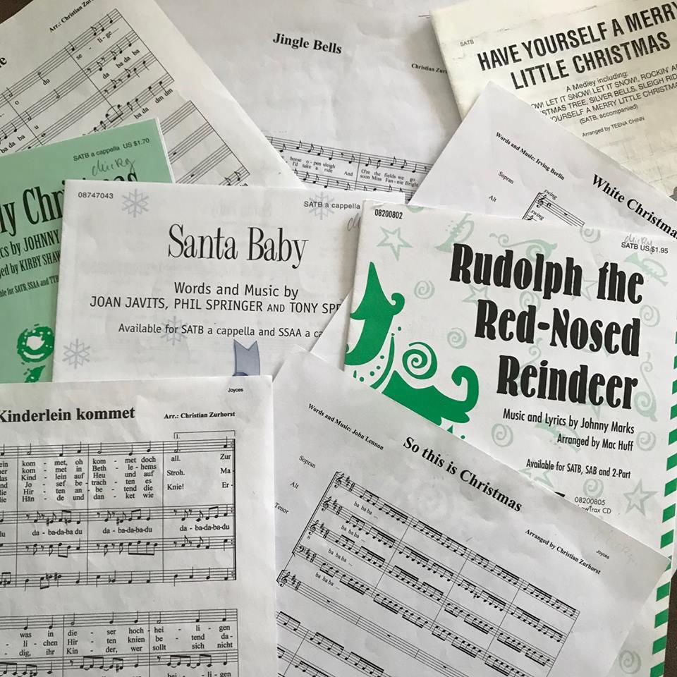 Weihnachts-Repertoire